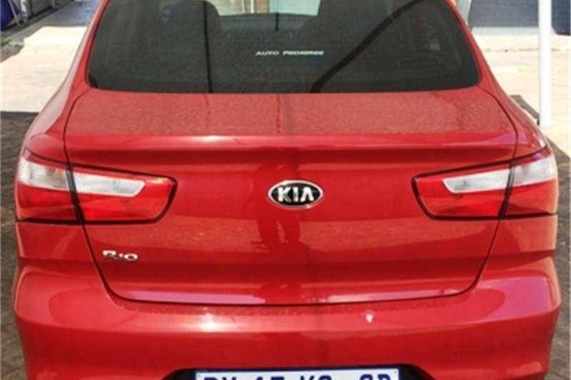Kia Rio sedan 1.4 auto 2015