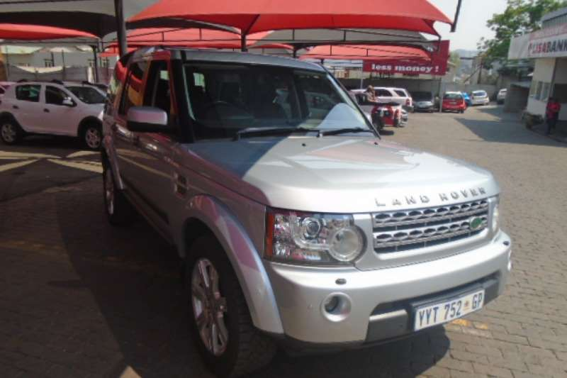 Land Rover Discovery 4 Discovery 4 3.0 TDV6 SE 2010