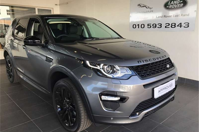Land Rover Discovery Sport Discovery Sport HSE TD4 2017