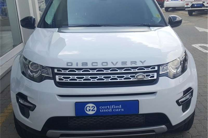 Land Rover Discovery Sport HSE Si4 2017
