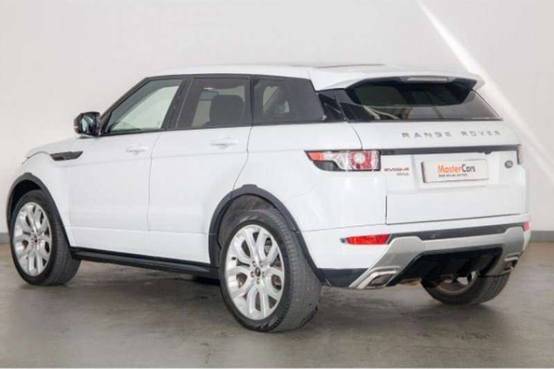 2013 land rover range rover evoque autobiography sd4 crossover suv diesel awd automatic. Black Bedroom Furniture Sets. Home Design Ideas