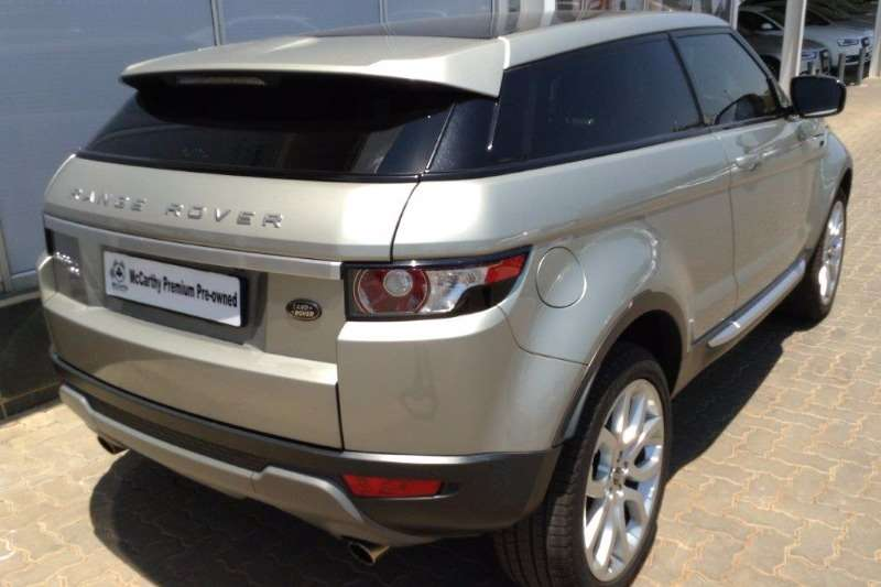 2012 land rover range rover evoque coupe si4 prestige crossover suv petrol awd automatic. Black Bedroom Furniture Sets. Home Design Ideas