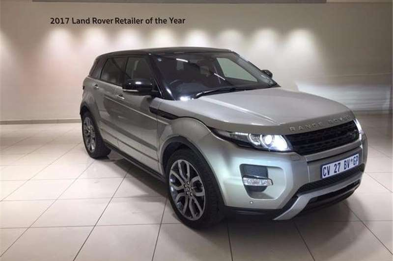 Land Rover Range Rover Evoque SD4 Dynamic 2013
