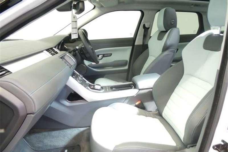 Land Rover Range Rover Evoque SD4 Dynamic 2017