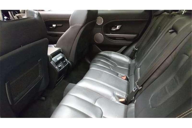 Land Rover Range Rover Evoque Si4 Dynamic 2015