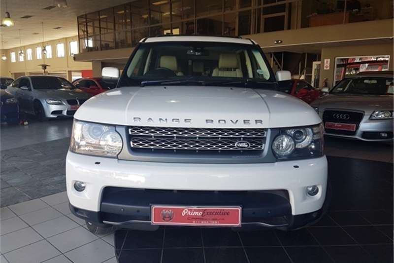 2009 land rover range rover sport supercharged crossover suv awd cars for sale in gauteng. Black Bedroom Furniture Sets. Home Design Ideas