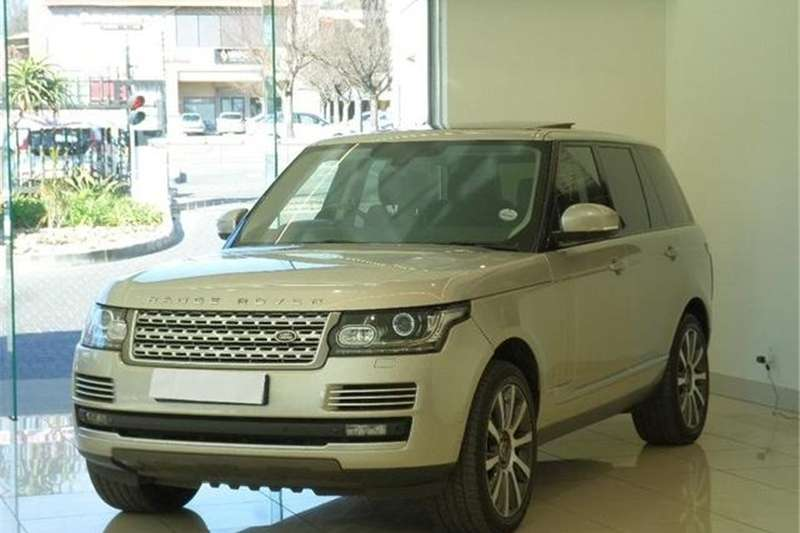 Land Rover Range Rover Supercharged Autobiography 2013