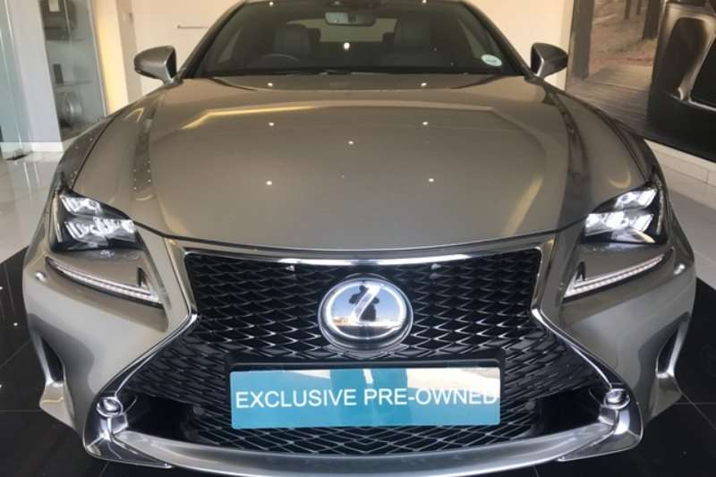 2017 lexus rc 350 f sport coupe petrol rwd automatic cars for sale in gauteng r 599. Black Bedroom Furniture Sets. Home Design Ideas