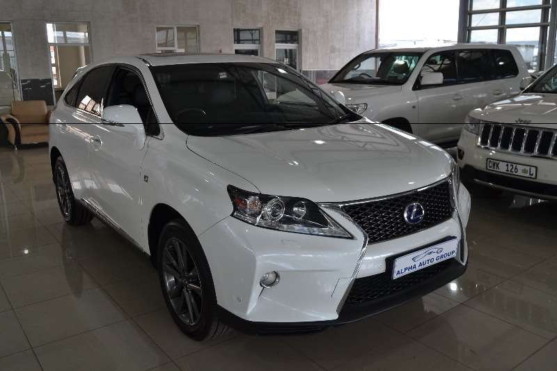 2012 lexus rx 450h f sport crossover suv petrol electric hybrid awd automatic cars for. Black Bedroom Furniture Sets. Home Design Ideas