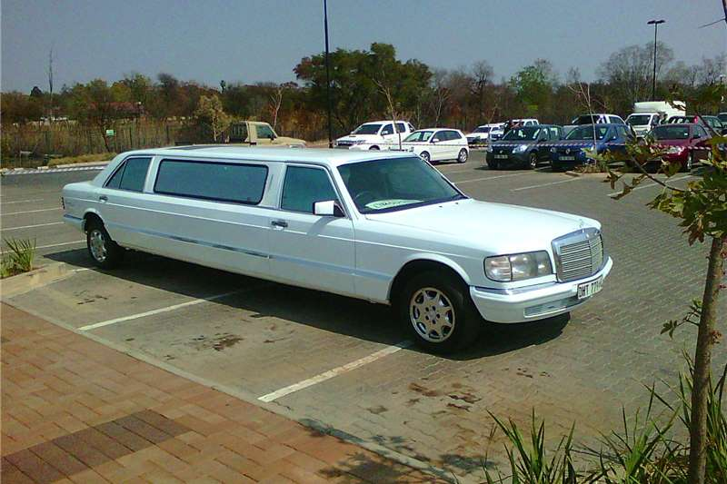 Mercedes benz 420sel stretched limousine cars for sale in for Mercedes benz limousine rental