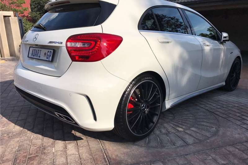 2016 mercedes benz a class a45 amg 4matic edition 1 hatchback awd cars for sale in gauteng. Black Bedroom Furniture Sets. Home Design Ideas