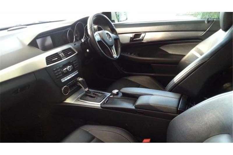 Mercedes Benz C Class C180 coupe auto 2012