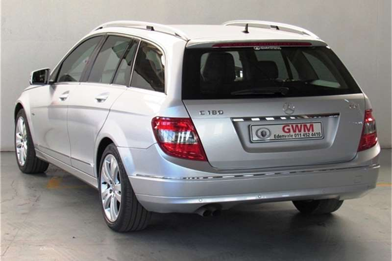 Mercedes Benz C Class C180 estate Avantgarde 2011