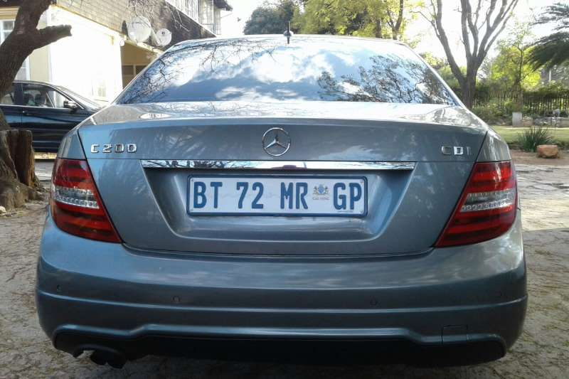 Mercedes Benz C Class C200CDI Elegance AMG Sports 2014