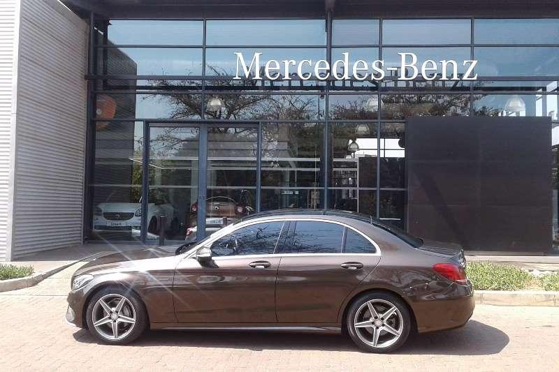 Mercedes Benz C Class C220 Bluetec AMG Sports auto 2014