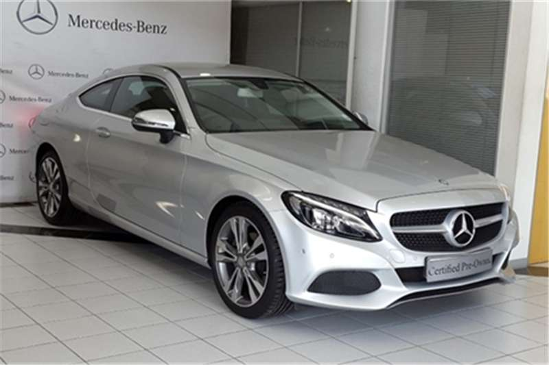2017 mercedes benz c class c220d coupe auto coupe diesel rwd automatic cars for sale in. Black Bedroom Furniture Sets. Home Design Ideas
