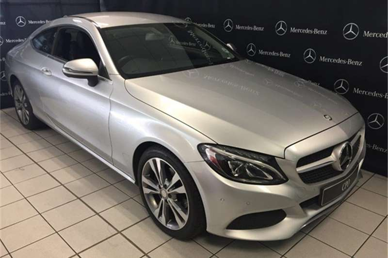 2017 mercedes benz c class c220d coupe auto coupe diesel for Types of mercedes benz c class