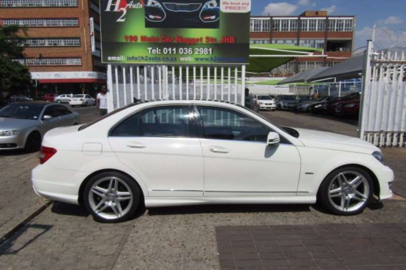 Mercedes Benz C Class C250CDI estate Avantgarde AMG Sports 2012
