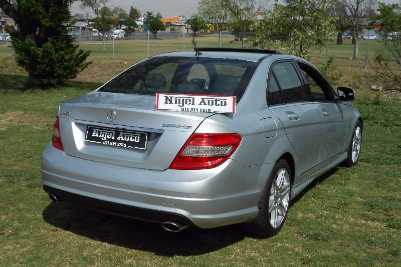 2009 mercedes benz c class c280 avantgarde amg sports sedan rwd cars for sale in gauteng r. Black Bedroom Furniture Sets. Home Design Ideas