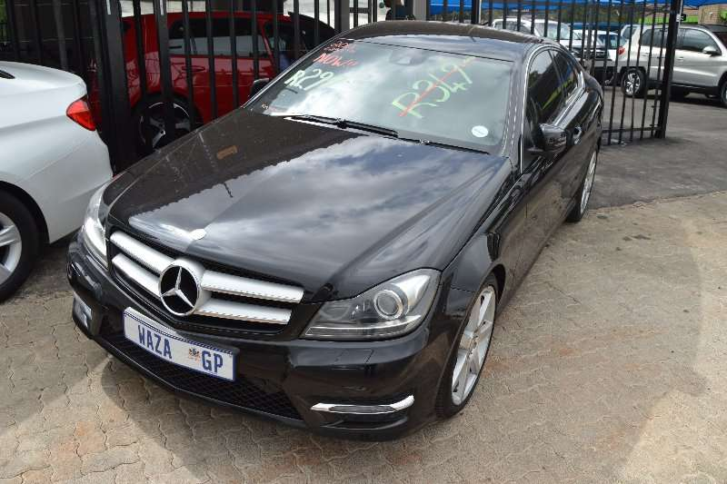 2013 mercedes benz c250 coupe cars for sale in gauteng r 299 000 on. Cars Review. Best American Auto & Cars Review