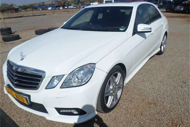 2012 mercedes benz e class e500 avantgarde sedan rwd for Mercedes benz e500 for sale