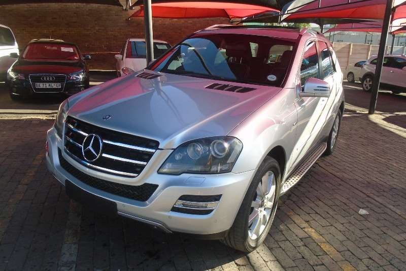 Mercedes Benz ML 350CDI 2011