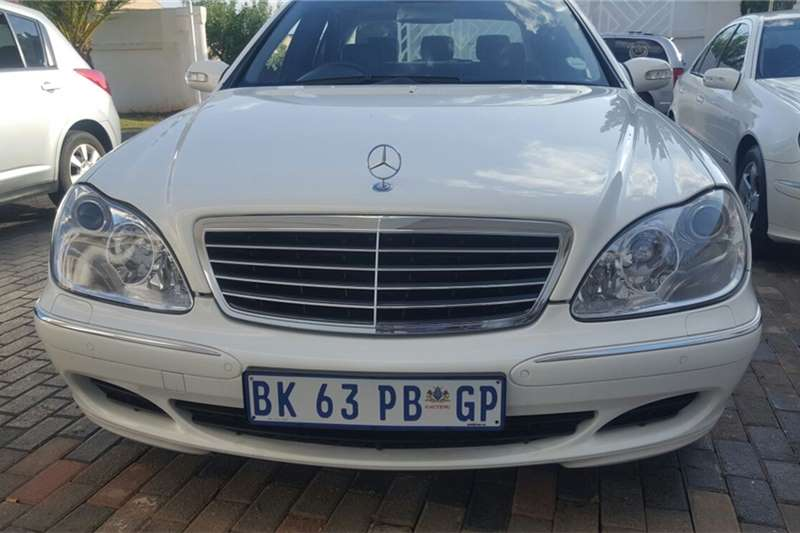 2004 mercedes benz s class s350 cars for sale in gauteng for 2006 mercedes benz s55 amg for sale
