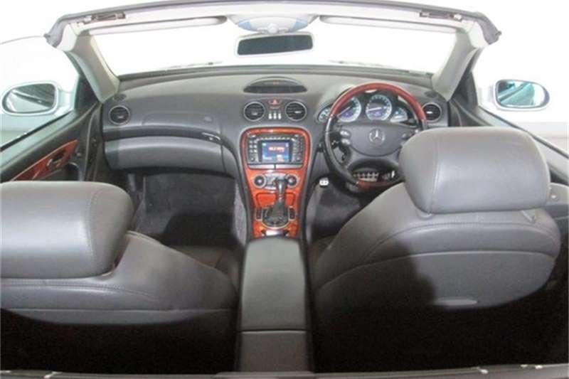 Mercedes Benz SL 500 Roadster 2002
