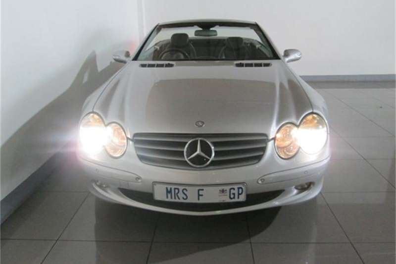 Mercedes Benz SL 500 Roadster 2002