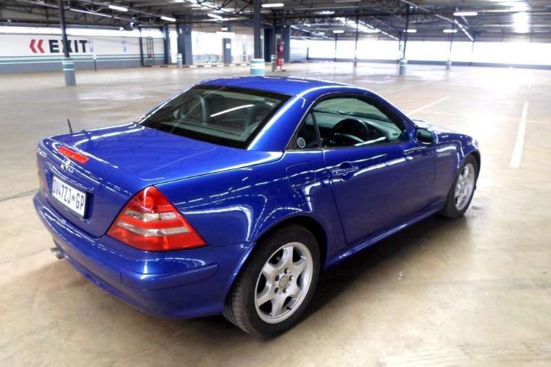 Mercedes Benz SLK 200 Kompressor 2001