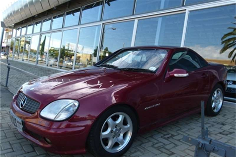 2003 mercedes benz slk 200 kompressor roadster cars for. Black Bedroom Furniture Sets. Home Design Ideas