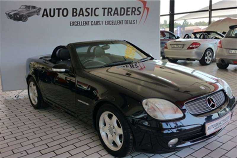 Mercedes Benz SLK 200 Kompressor Roadster 2003