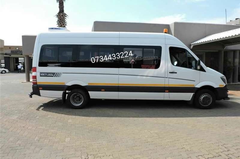 2014 mercedes benz sprinter 519 cdi 23 seater cars for for Mercedes benz sprinter for sale
