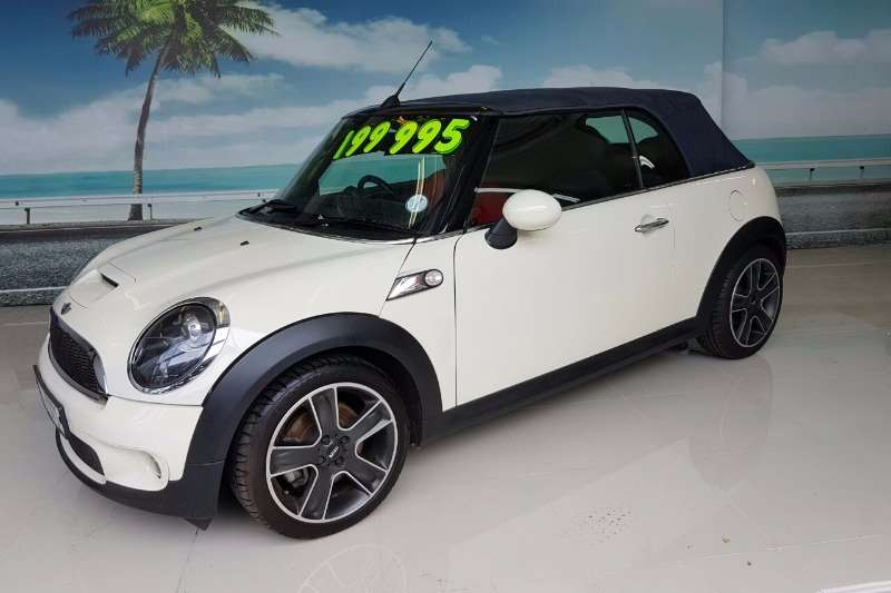 2010 mini convertible cooper s convertible petrol fwd manual cars for sale in western. Black Bedroom Furniture Sets. Home Design Ideas