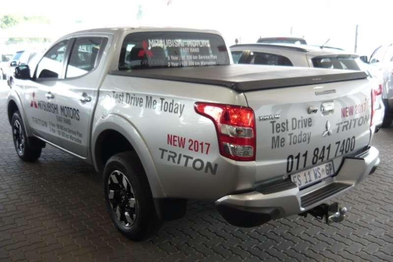 Mitsubishi Triton 2.4D 4x4 Man 2017