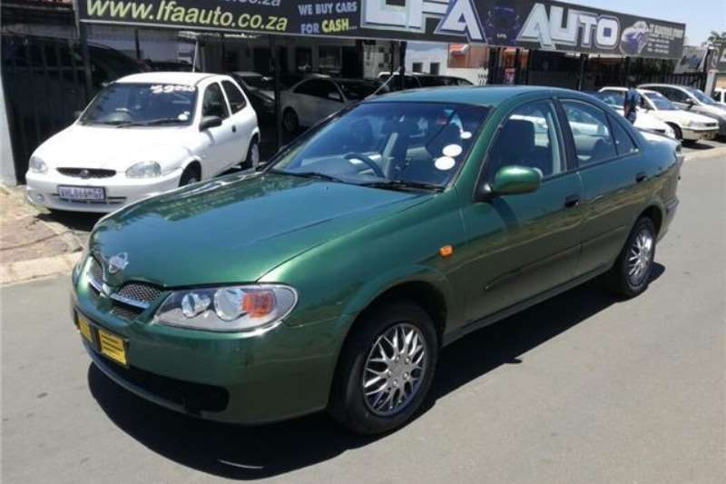 2001 nissan almera cars for sale in gauteng r 49 950 on. Black Bedroom Furniture Sets. Home Design Ideas