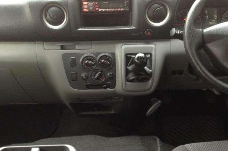 Nissan NV350 panel van wide body 2.5dCi 2014