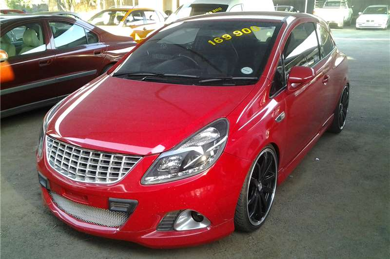 2008 opel corsa opc hatchback fwd cars for sale in gauteng r 139 900 on auto mart. Black Bedroom Furniture Sets. Home Design Ideas