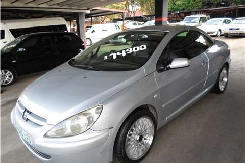 Peugeot 307 2.0 COUPE (OPEN TOP) 2004