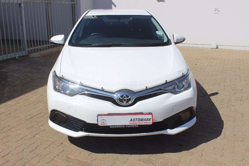 2016 toyota auris 1 3 x hatchback petrol fwd manual cars for sale in gauteng r 195 900. Black Bedroom Furniture Sets. Home Design Ideas