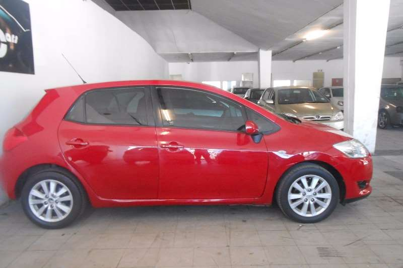 2008 toyota auris 1 6 xr hatchback petrol fwd manual cars for sale in gauteng r 90 000. Black Bedroom Furniture Sets. Home Design Ideas