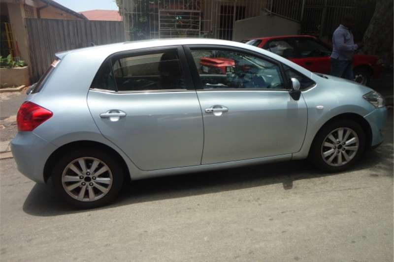 2009 toyota auris 1 8rx auris hatchback cars for sale in gauteng r 110 000 on auto mart. Black Bedroom Furniture Sets. Home Design Ideas