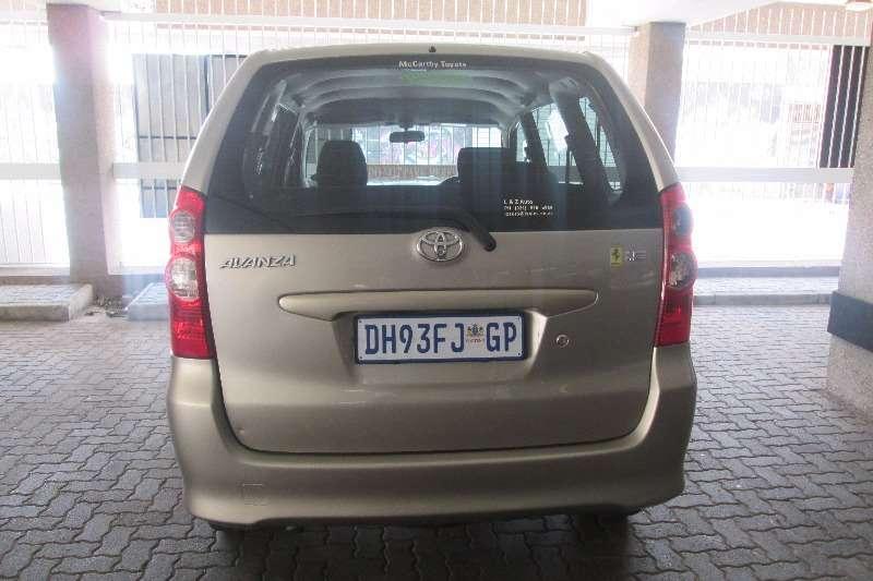 Toyota Avanza 1.5 SX 2010