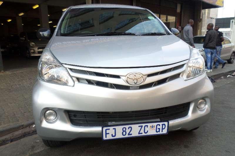 2012 Toyota Avanza 1.5 SX Multi purpose vehicle ( RWD ...