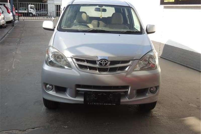 Toyota Avanza 1.5 TX 2007