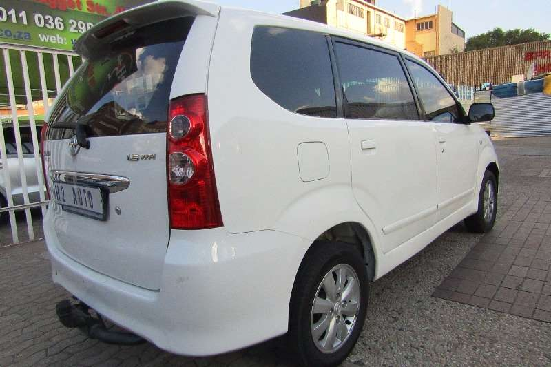 2009 toyota avanza 1 5 tx multi purpose vehicle rwd cars for sale in gauteng r 130 000 on. Black Bedroom Furniture Sets. Home Design Ideas