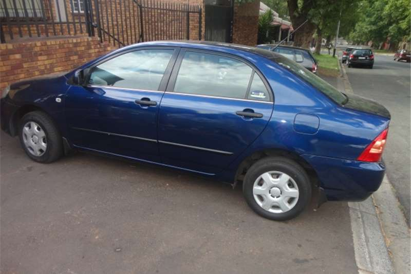 2006 toyota corolla gls sedan cars for sale in gauteng r 75 000 on auto mart. Black Bedroom Furniture Sets. Home Design Ideas