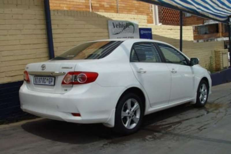 2012 toyota corolla 1 6 advanced sedan fwd cars for sale in gauteng r 149 850 on auto mart. Black Bedroom Furniture Sets. Home Design Ideas