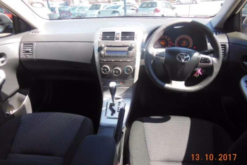 Toyota Corolla 1.6 Advanced auto 2013