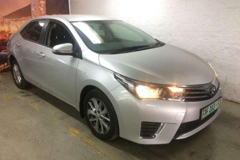 Toyota Corolla 1.6 CVT 2014
